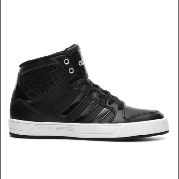 Zapatillas adidas neo High Tops doble cordones poshmark